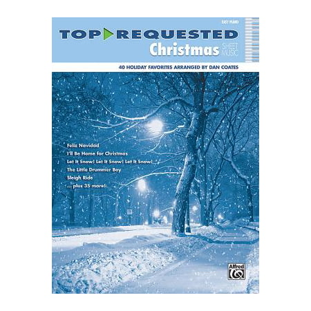 Top-Requested Christmas Sheet Music : Easy (Vintage Piano Sheet Music)