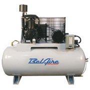 BelAire 338H4 460-Volt 5-HP 80-Gallon Horizontal Electric Air Compressor