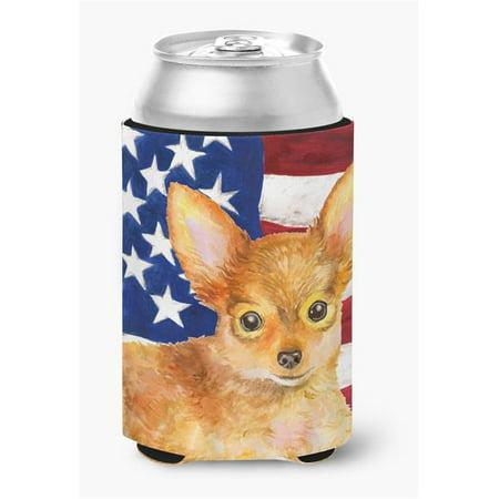 Toy Terrier Patriotic Can or Bottle Hugger - image 1 de 1