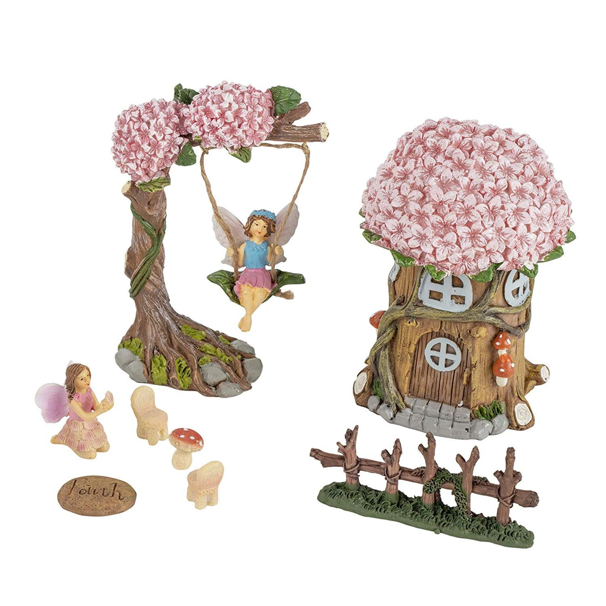 Walmart Wedding Gift Ideas: 6-Piece Unicorn Fairy Garden
