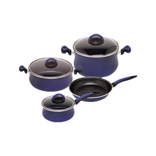 Magefesa Due Porcelain on Steel 7-Piece Cookware Set