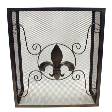 Wondrous Leigh Country Fleur De Lis Fireplace Screen Home Interior And Landscaping Ologienasavecom