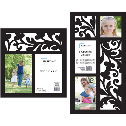 Mainstays 2-Piece Open Scroll Frame Set