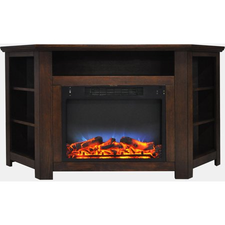 Cambridge stratford 56 electric corner fireplace heater with led cambridge stratford 56 electric corner fireplace heater with led multi color led flame display teraionfo