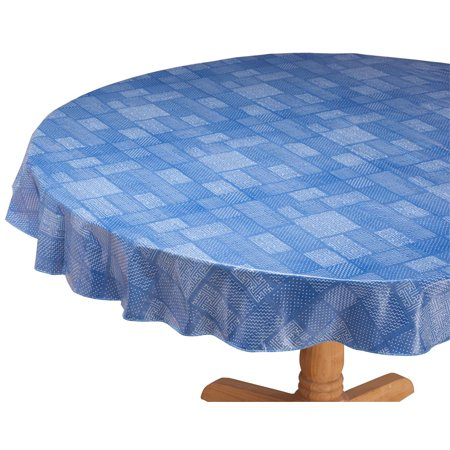 Target Vinyl Tablecloth (Patchwork Vinyl Table Cover by Home-Style Kitchen 70