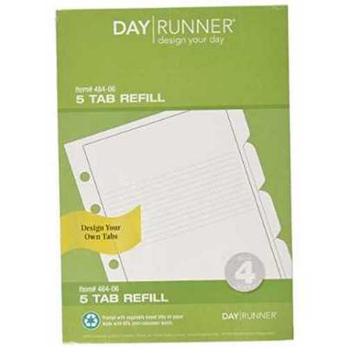 Day Runner Design Your Own Planner Tab (484-06)
