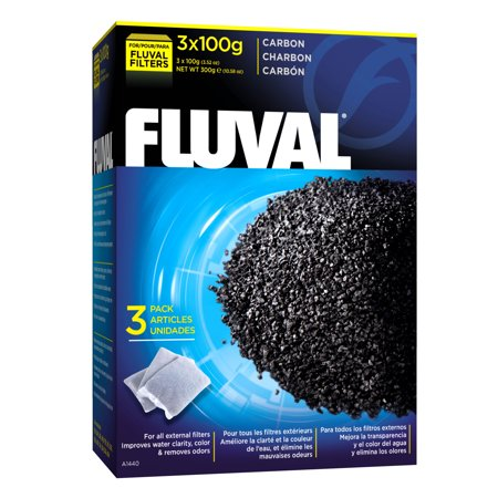 Fluval Carbon, 100G (3/PK)