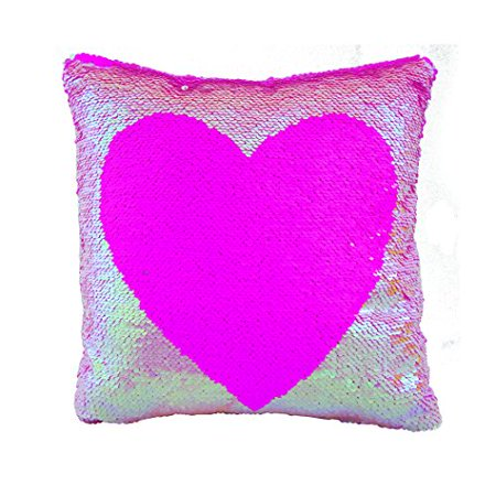Fashion Angels Style Labs Magic Sequin Pillow, Pink, 12