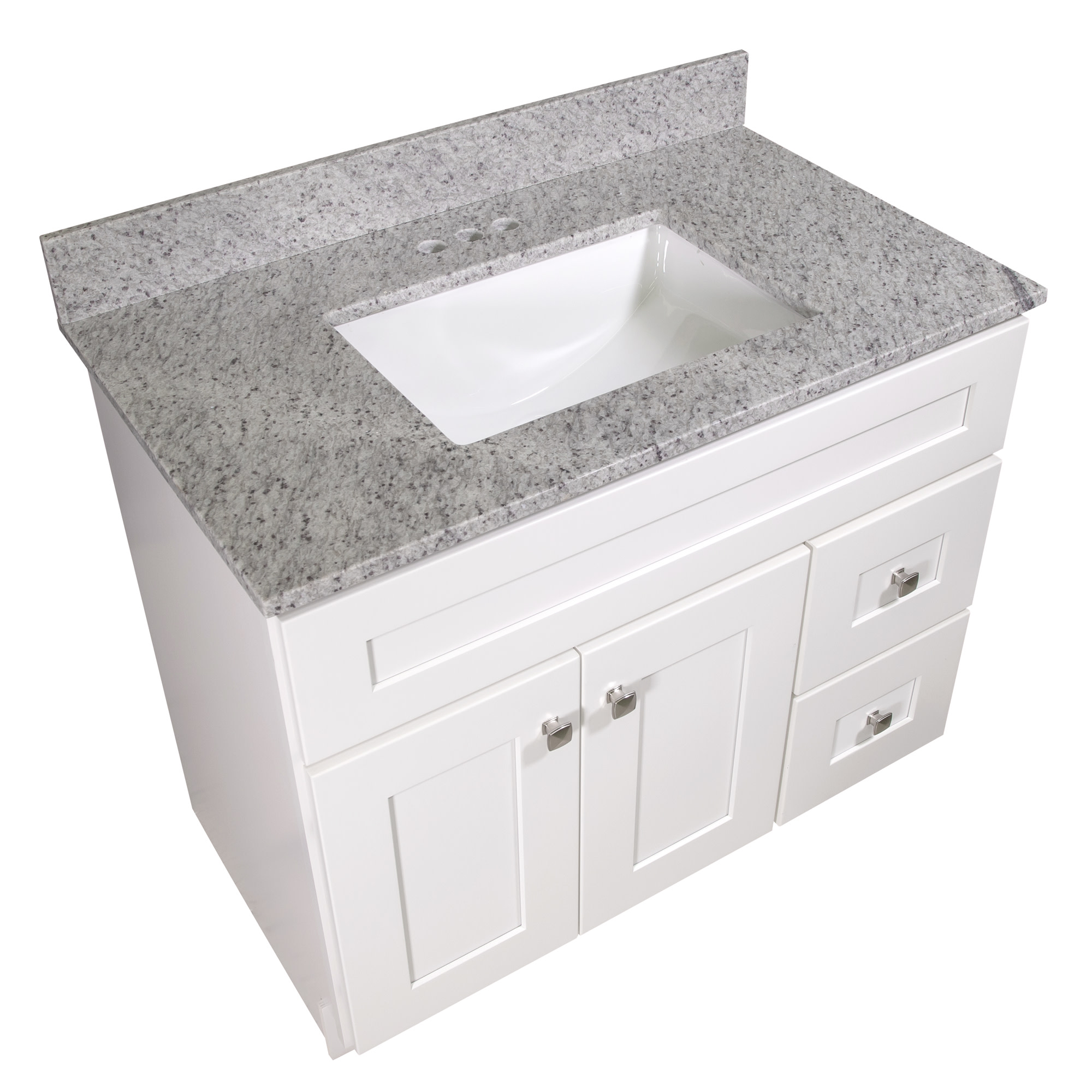 Design House 563346 Granite Single Bowl Vanity Top 37x22 Kashmir White Walmart Com Walmart Com
