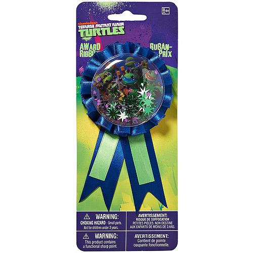 Teenage Mutant Ninja Turtles Ribbon Badge, Party Supplies