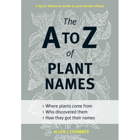 A to Z of Plant Names - Hardcover