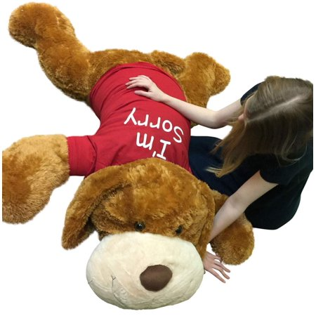 Say I M Sorry With This Giant Stuffed Puppy Dog 5 Feet Long Honey