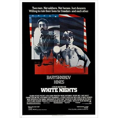 - Vintage Movie Poster White Nights Barynshnikov & Hines Dancing Action 24X36