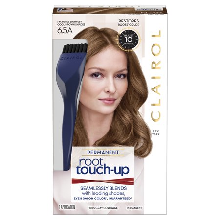 Clairol Root Touch-Up Permanent Hair Color, 6.5A Lightest Cool (A1 Colour)