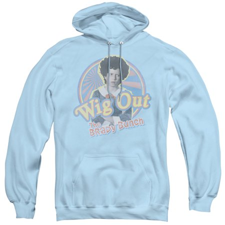 Brady Bunch - Wig Out - Pull-Over Hoodie - Large