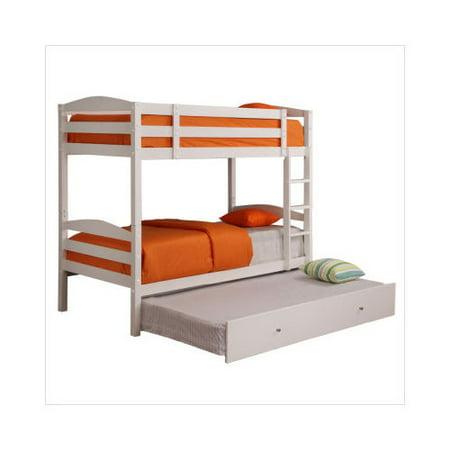 Home loft concept royalton twin twin solid wood bunk bed for Home loft concept bunk bed