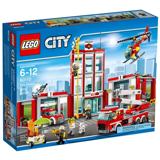 Lego City Fire Station 60110 Walmart