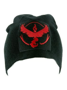 Team Valor Red Pokemon Go Beanie Alternative Style Clothing Knit Cap