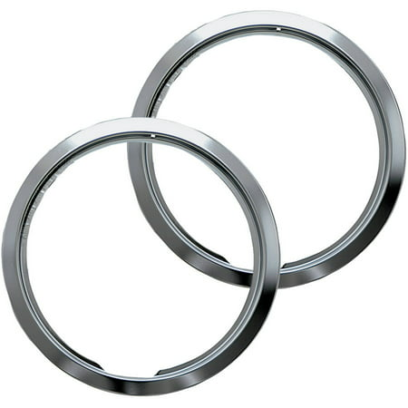 Range kleen small trim rings style e chrome set of 2 Style me up fashion trim rings