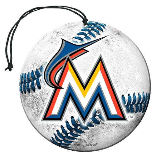 Miami Marlins 3-Pack Car Air Fresheners - No Size