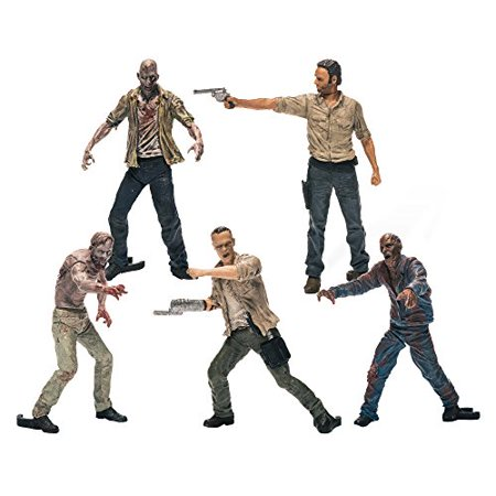 Box Set Mcfarlane Toys - McFarlane Toys Building Sets- The Walking Dead TV Figure Pack 1