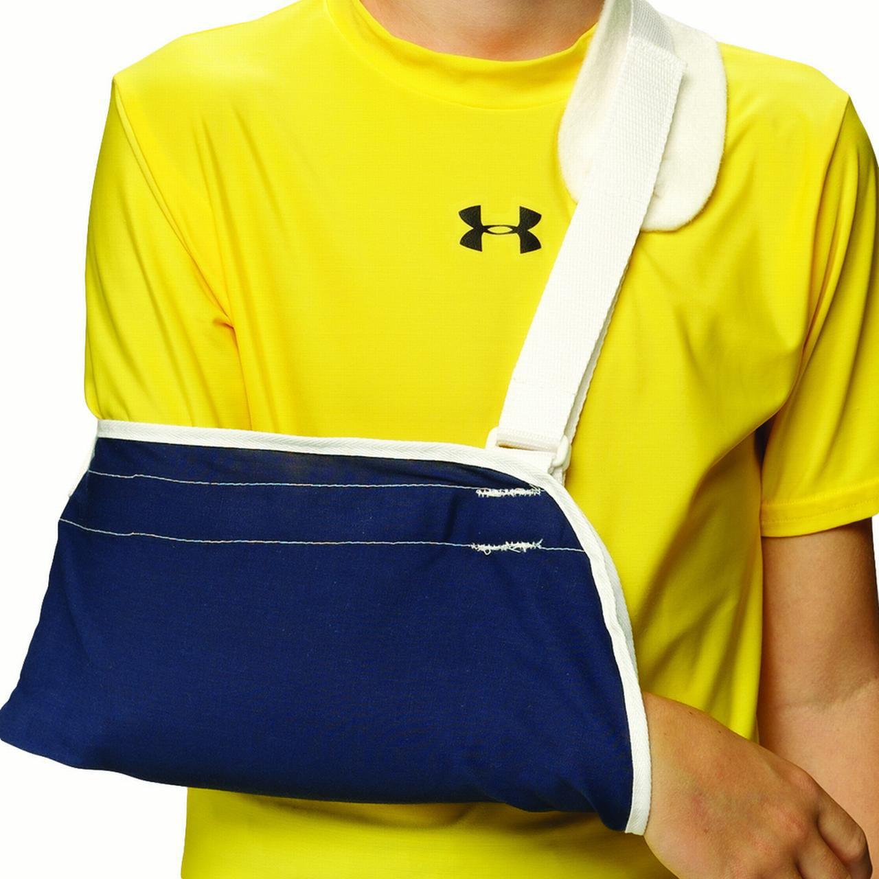 OTC Kidsline Cradle Arm Sling, Navy, Pediatric