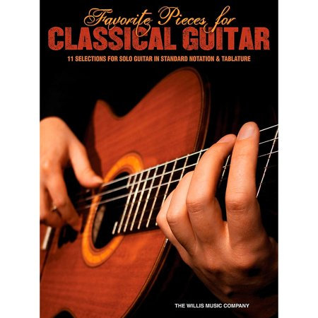 Hal Leonard Favorite Pieces For Classical Guitar  Solo Guitar with Tab Classical Guitar Solo Tab