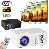 Mini Projector, EEEkit Portable Video-Projector 20000 hours Multimedia Home Theater Movie Projector Compatible with HDMI/AV/USB Playstation PS3 PS4 or X-Box ONE