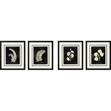 - Decoupage Framed Art, Set of 4
