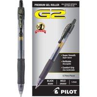 Pilot G2 Bold Point Retractable Gel Pens, 1 Dozen (Quantity)