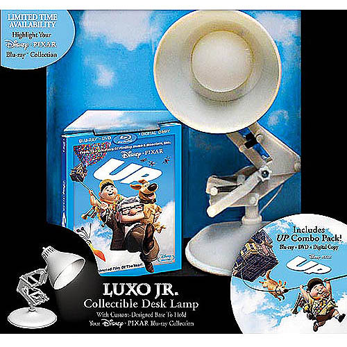 Up (4-Disc) (2-Disc Blu-ray   DisneyFile Digital Copy   Standard DVD) (With Luxo Lamp) (Widescreen)