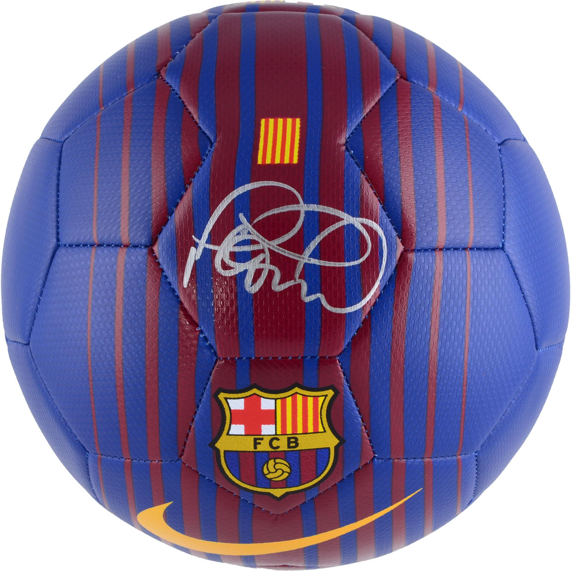Philippe Coutinho Barcelona Autographed Barca Soccer Ball - Fanatics Authentic Certified