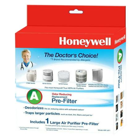 Honeywell Universal Carbon Air Purifier Replacement Pre-Filter, HRF-AP1 / Filter (A) Fresh Air Filter