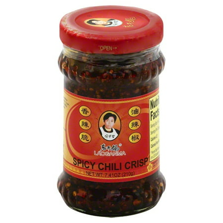 Laoganma Spicy Chili Crisp Sauce, 7.41 Fl Oz