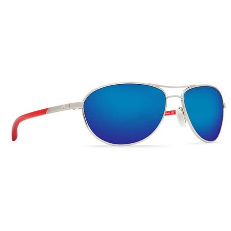 71d64ccd08dd5 Costa Del Mar - Costa Del Mar Kc Palladium With Crystal Red Round Sunglasses  - Walmart.com