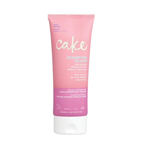 Cake Beauty Desserted Island Coco Supreme Body Mousse, 6.76 Ounce