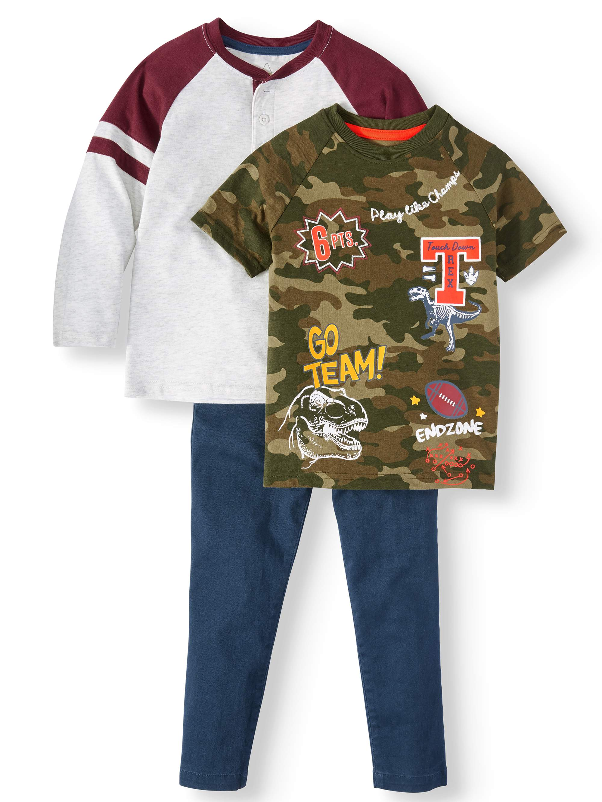 S1ope Boys Linked Savage 2-Piece Pants Set Outfit