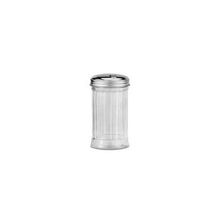 HIC Classic Diner Style Sugar Dispenser for Coffee and Tea, Glass, 11-ounce ()