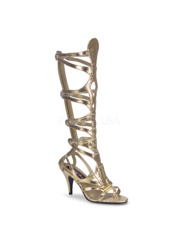 GOD12/GLD/PU Funtasma Women's Boots GOLD Size: 9