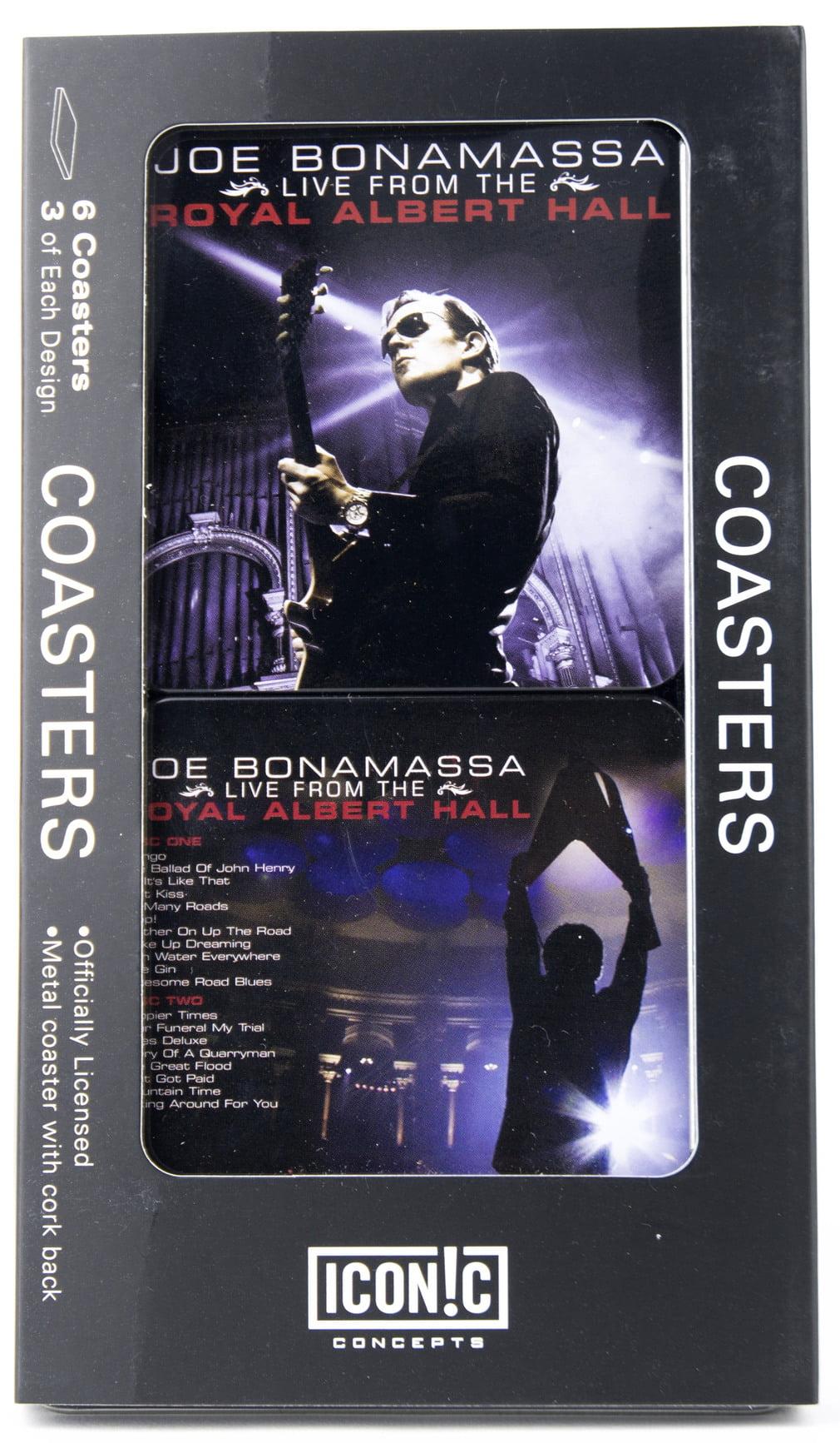 Joe Bonamassa Tin Coaster Set Royal Albert Hall by Iconic