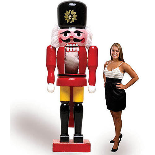 Nutcracker Life Size Cardboard Stand-Up