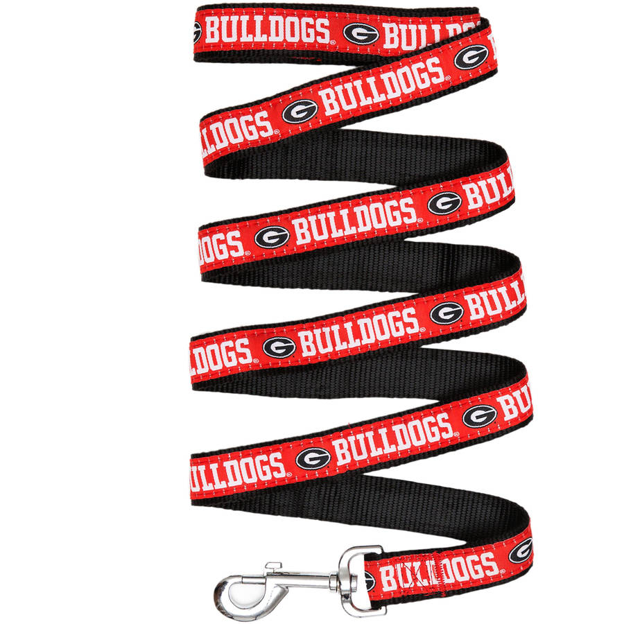 Pets First College Georgia Bulldogs Pet Leash, Assorted Sizes