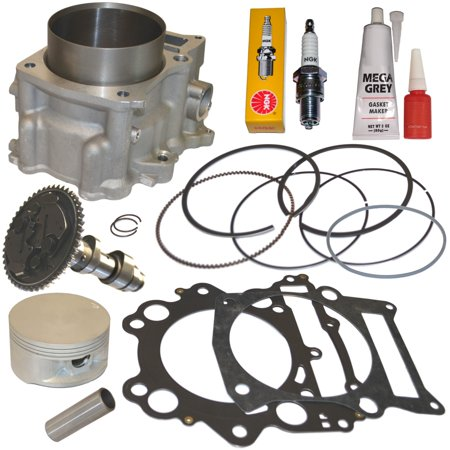 - Top Notch Parts Yamaha Grizzly 660 686cc Big Bore Cylinder Piston Camshaft Cam Kit Set 02-08