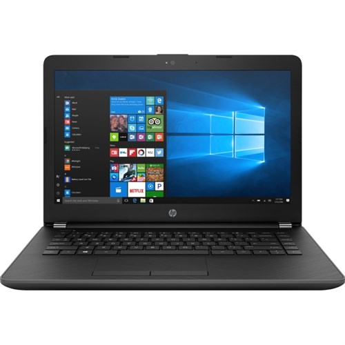 "HP 14-Bw010Nr 14"" Laptop, Windows 10 Home, AMD E2-9000e Dual-Core Processor, 4GB RAM, 500GB Hard Drive by HP"