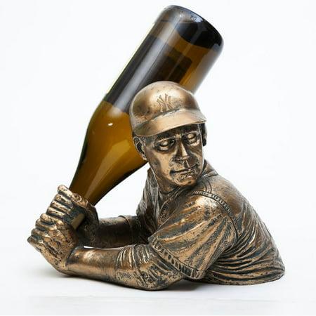 Team Sports America MLB Bam Vino 1 Bottle Tabletop Wine Rack