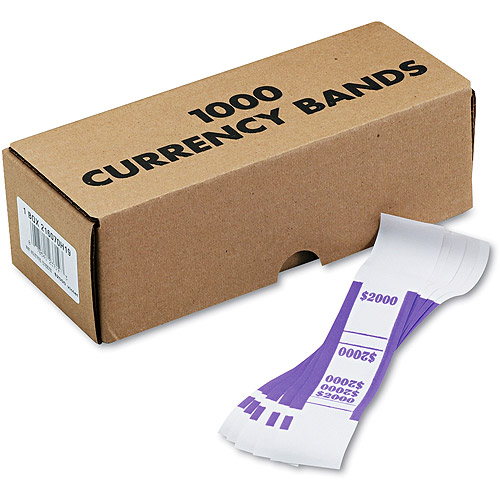 MMF Industries Self-Adhesive Currency Straps