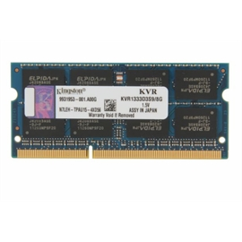 Kingston ValueRAM 8GB DDR3 SDRAM Memory Module KVR1333D3S9/8G