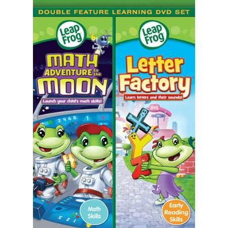 - Leapfrog: Math Adventure To The Moon / Letter Factory (DVD)