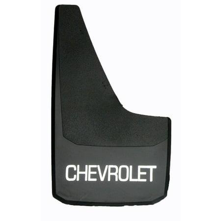 4319 'C' Series Universal Fit Premiere Splash Guard (Black with Chevrolet - 18