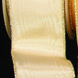 Gold Symphony Moire With Gold Wired Edge Craft Ribbon 3 X 22 Yards Walmart Com